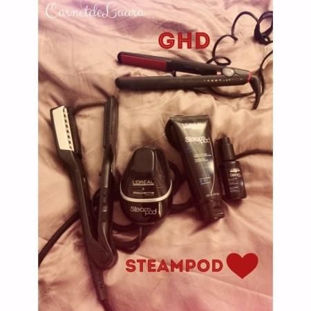 steampod de l'Oréal et le ghd, un lisseur puissant