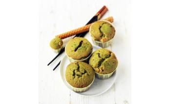 muffin thé matcha