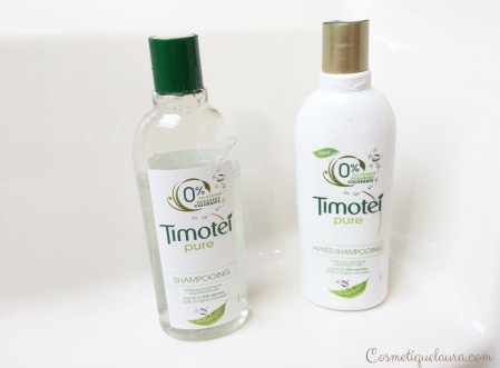 Timotei pure shampoing et après shampoing