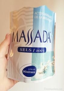 Sel de la mer morte MASSADA